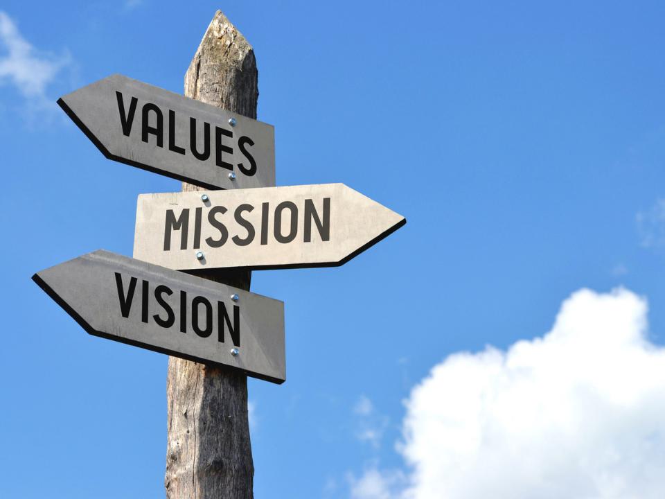 Mission e Vison: le differenze
